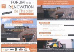 Forum de la rénovation de l'habitat au Porhoët